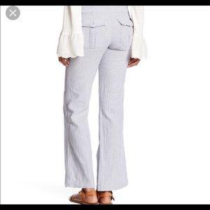 Sanctuary Linen Cotton Blend Pants